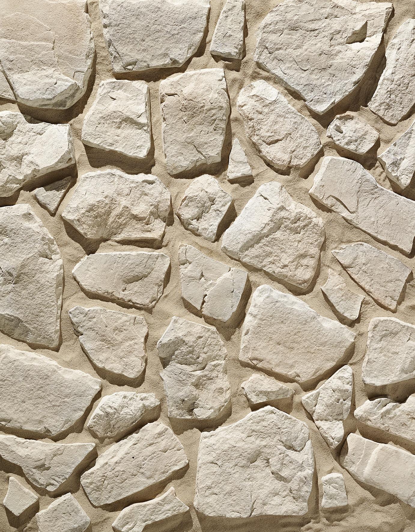 Pant de mur en pierre reconstituée