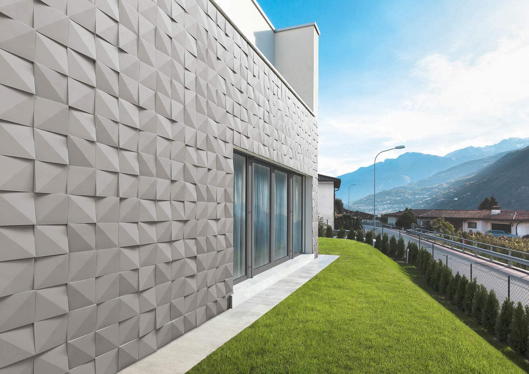 Pant de mur en pierre de parement acl vertices de coouleur noir