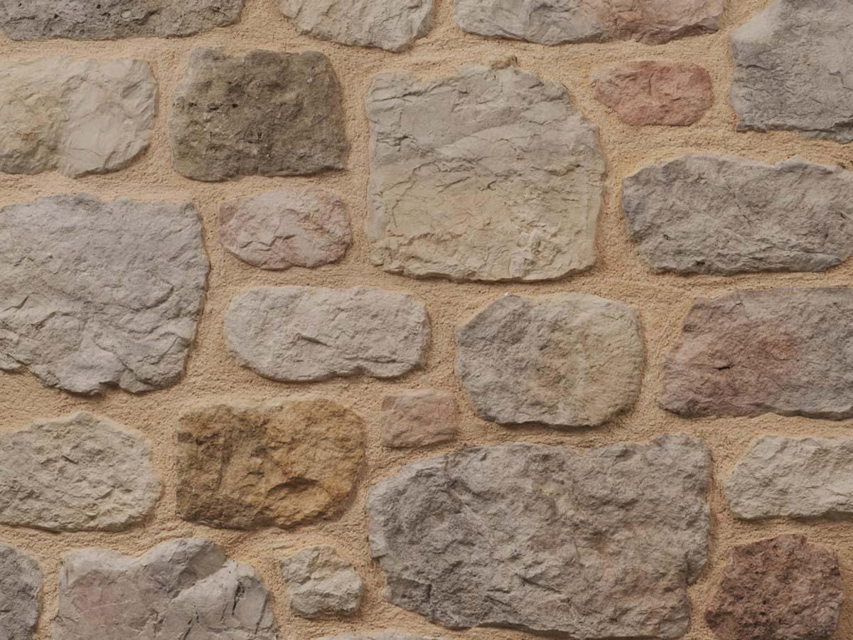 Mur en pierre reconstituée mathios arcadian