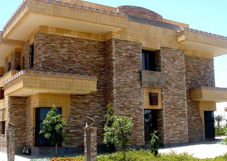 Maison réalisée en pierre reconstituée mathios bretagne