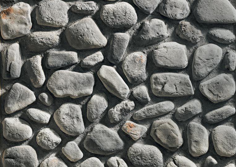 Pierre reconstituée rastone natilus de couleur grise