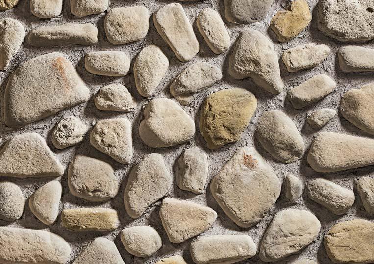 Pierre reconstituée rastone natilus de couleur sable