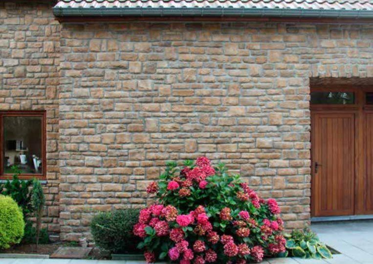Pant de mur en pierre reconstituée pietre d'arredo granada
