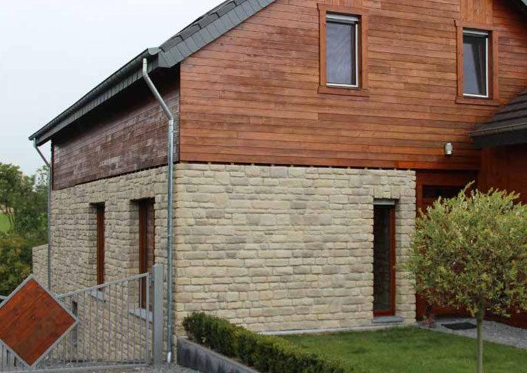 Maison en pierre reconstituée pietre d'arredo granada