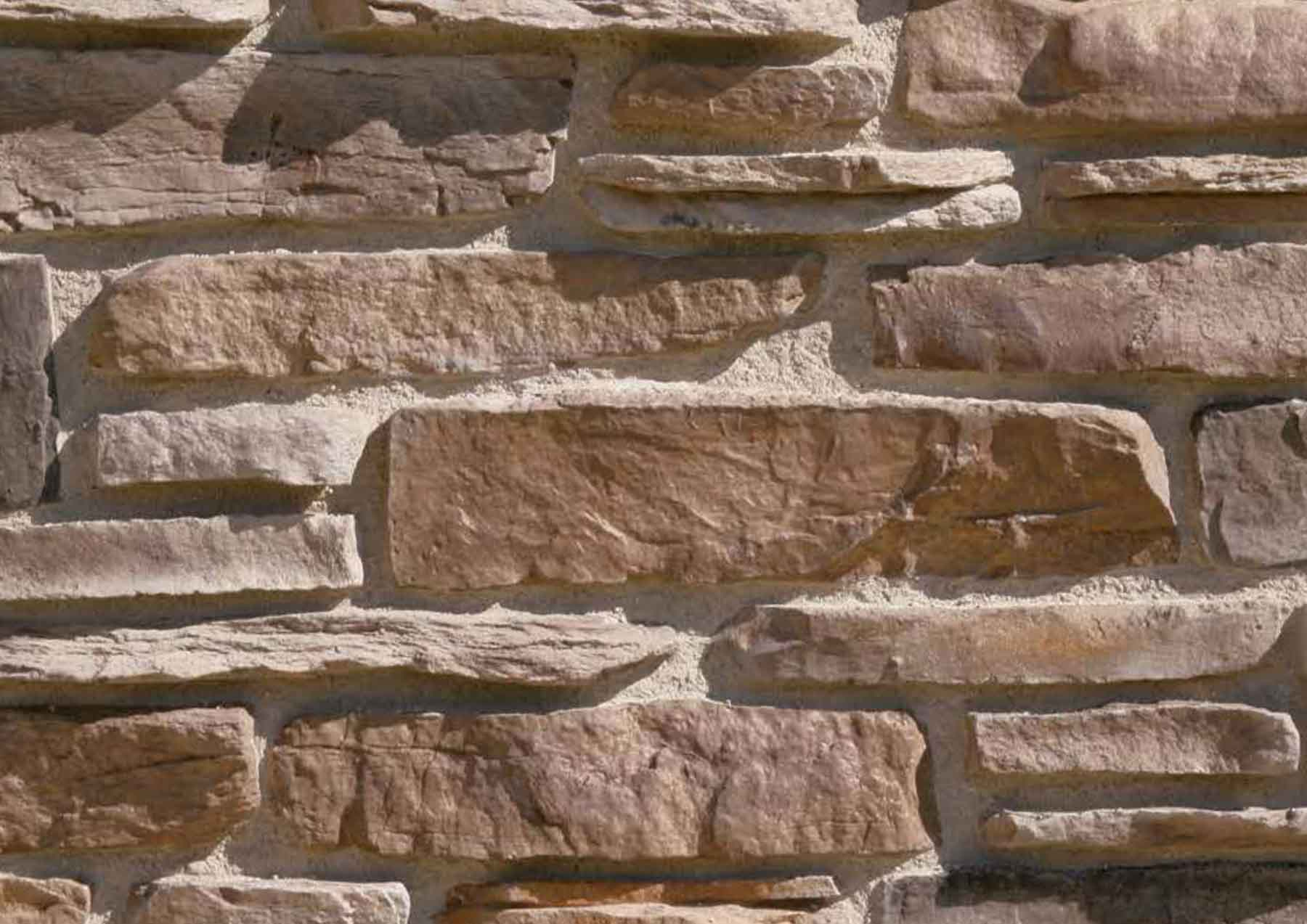 Pant de mur en pierre reconstituée pietre d arredo lokon café