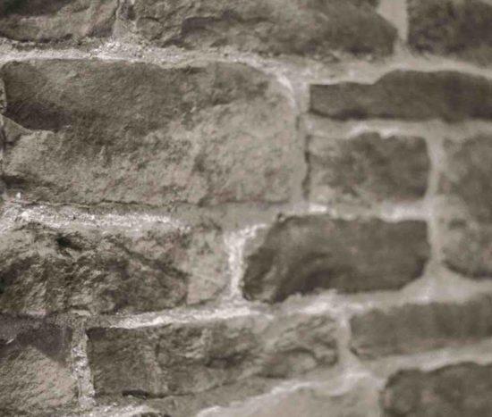 Mur en pierre reconstituée pietre d' arredo taos grise