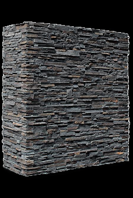 Pant de mur en pierre reconstituée rastone arcadia