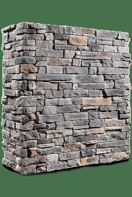 Pant de mur en pierre reconstituée rastone kronos