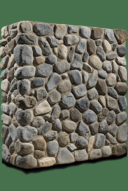 Pant de mur en pierre reconstituée rastone natilus