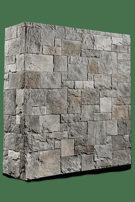 Pant de mur en pierre reconstituée rastone petra