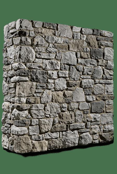 Pant de mur en pierre reconstituée rastone rupe