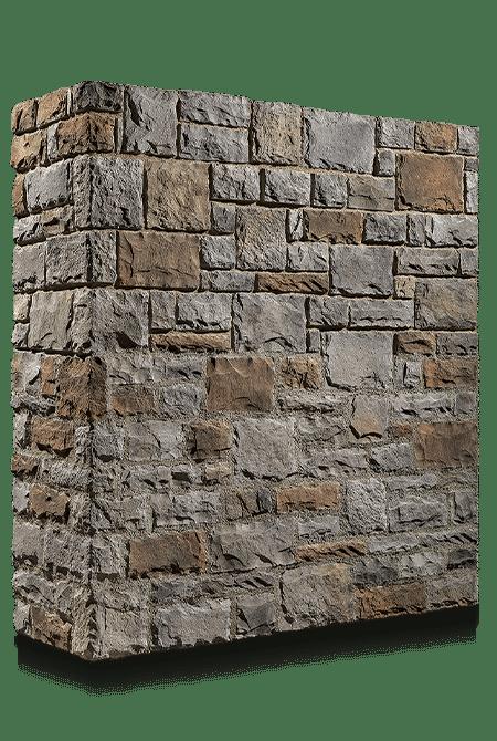 Pant de mur en pierre reconstituée rastone tudor