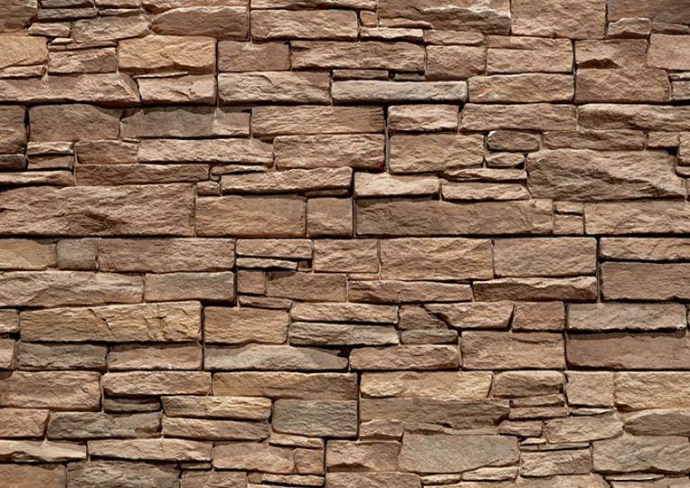 Mur en pierre reconstituée acl luna café
