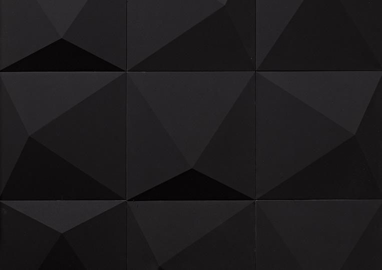 Pierre reconstituée acl prisma couleur noire
