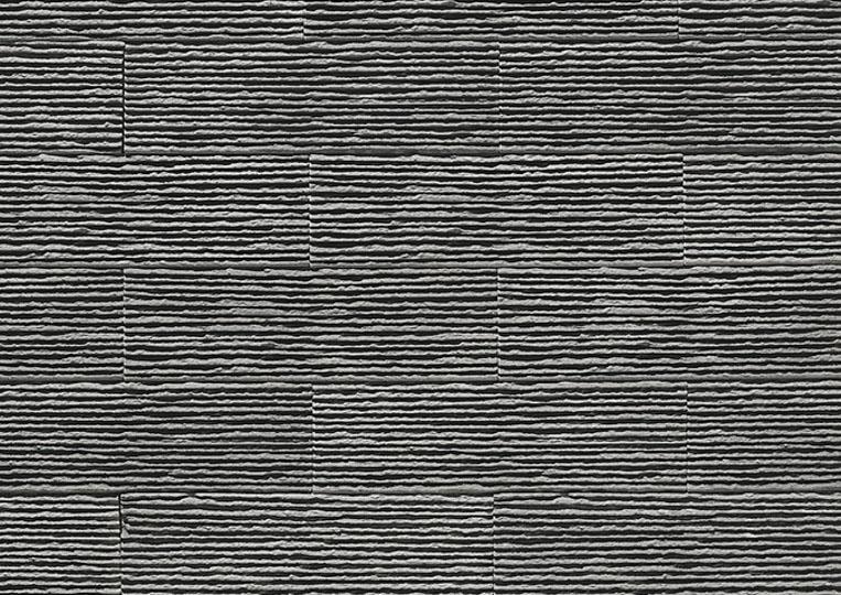 Pierre reconstituée acl riscado couleur gris