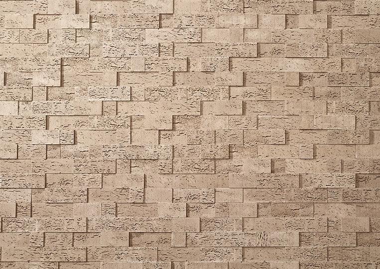 Pierre reconstituée acl stone cork couleur sable