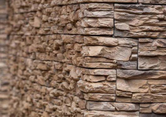 Mur en pierre reconstituée mathios cordillera café