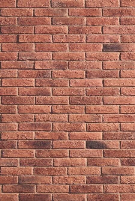Mur en pierre de parement acl cementbrick couleur café