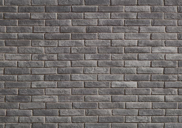 Mur en pierre de parement acl cementbrick couleur gris