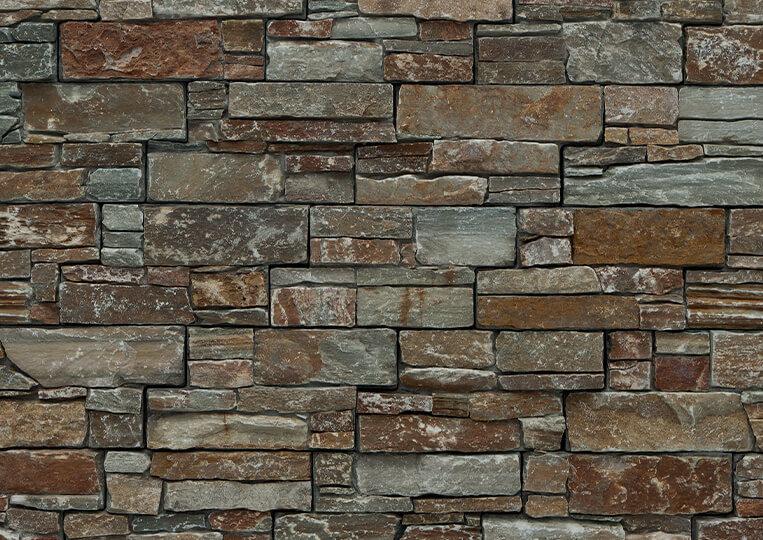 Mur en pierre naturelle Lithos pierre orient