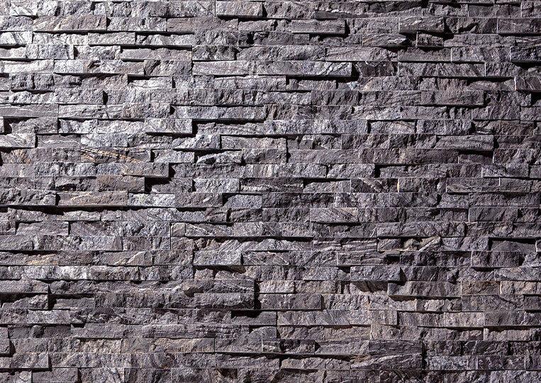 Mur en pierre naturelle Lithos zébrée