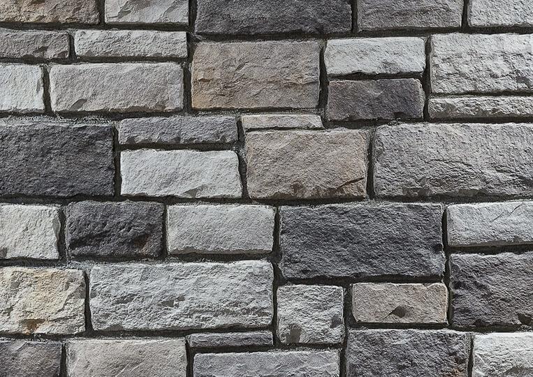 Mur en pierre reconstituée country stone kaunos duman