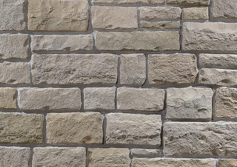 Mur en pierre reconstituée country stone kaunos sahra