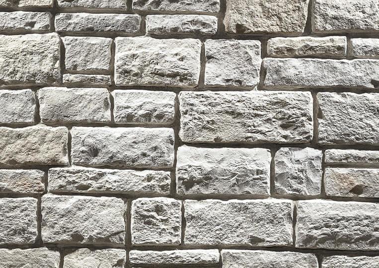 Mur en pierre reconstituée country stone kaunos sedef