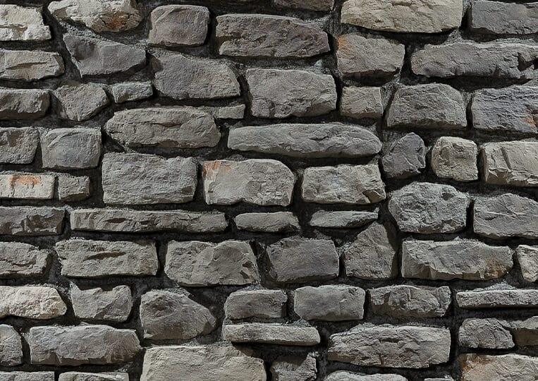 Mur en pierre reconstituée country stone mindos defne
