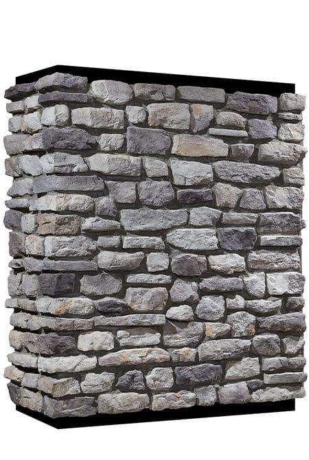 Mur en pierre reconstituée country stone mindos