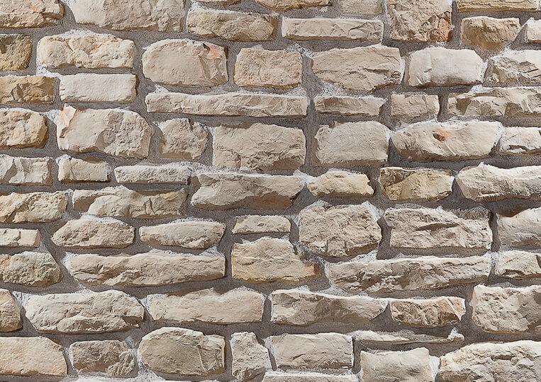 Mur en pierre reconstituée country stone mindos sahra 2