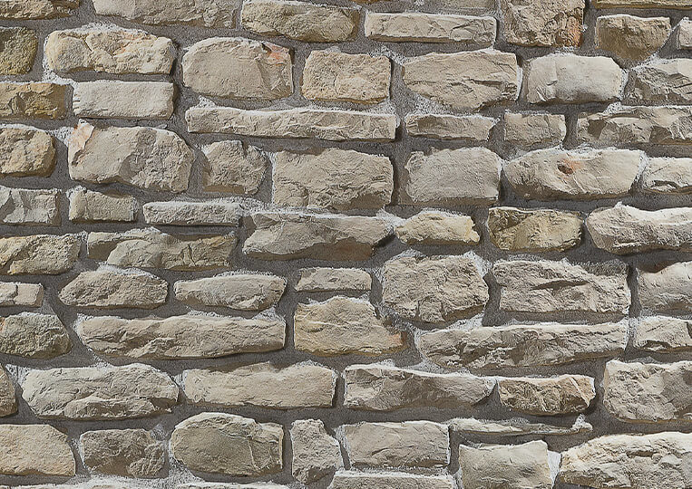 Mur en pierre reconstituée country stone mindos sahra