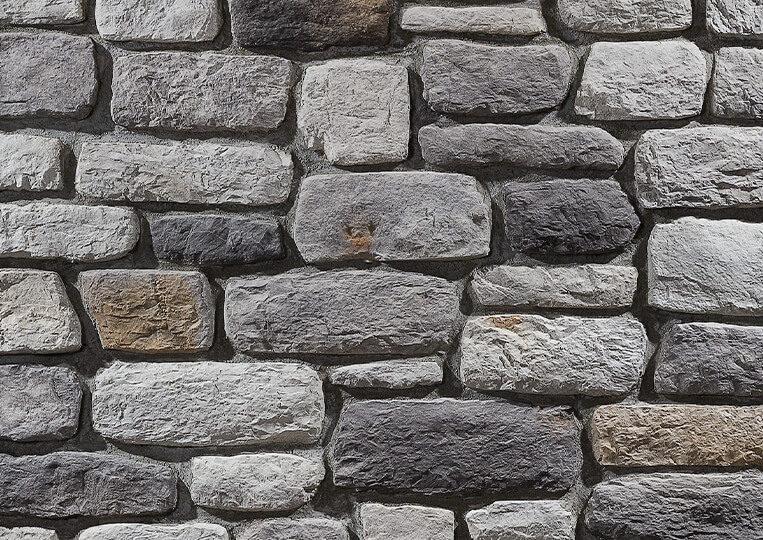 Mur en pierre reconstituée country stone sillyon duman