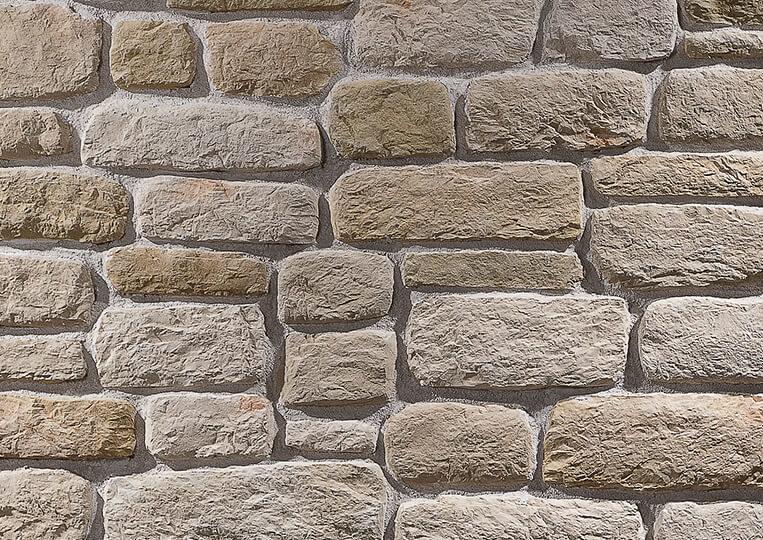 Mur en pierre reconstituée country stone sillyon sahra