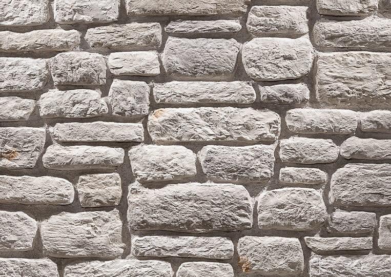Mur en pierre reconstituée country stone sillyon sedef