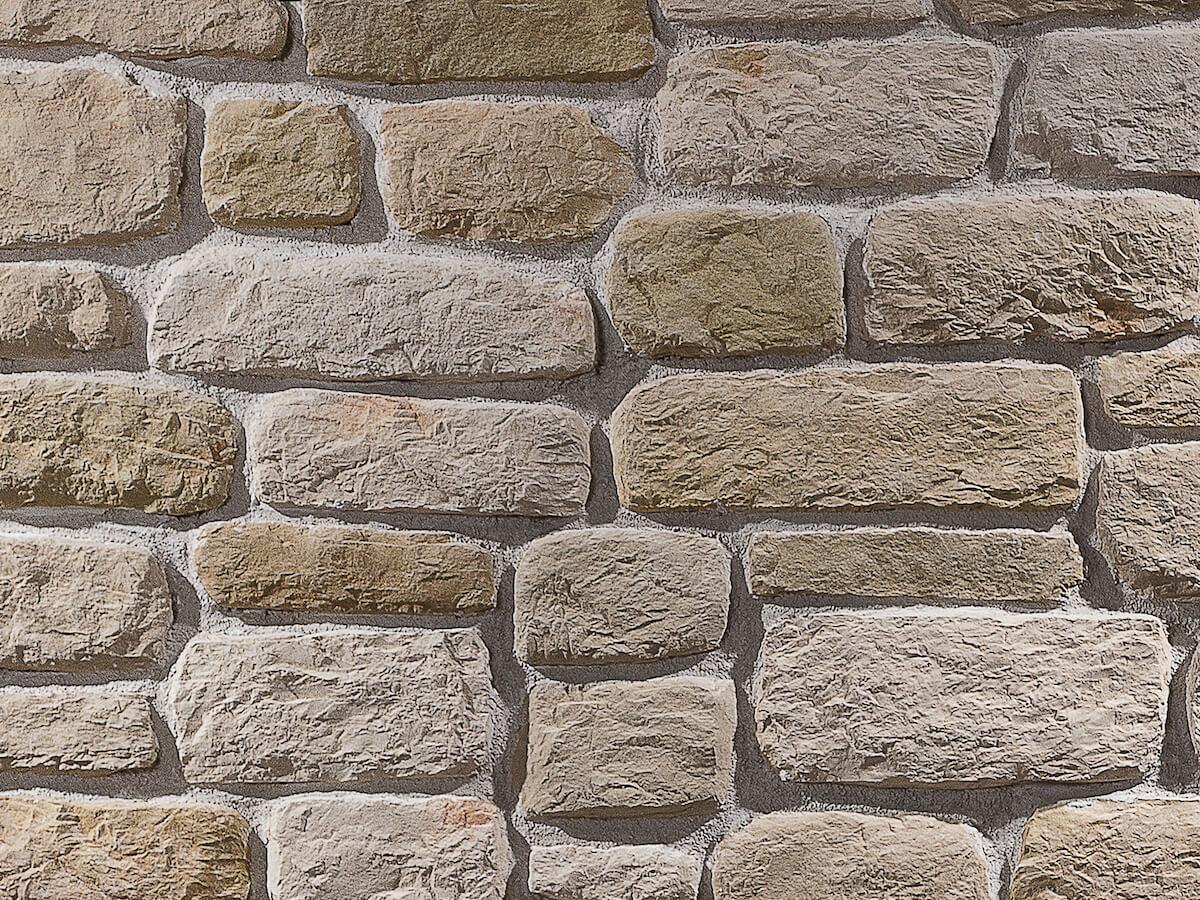 Mur en pierre reconstituée country stone sillyon