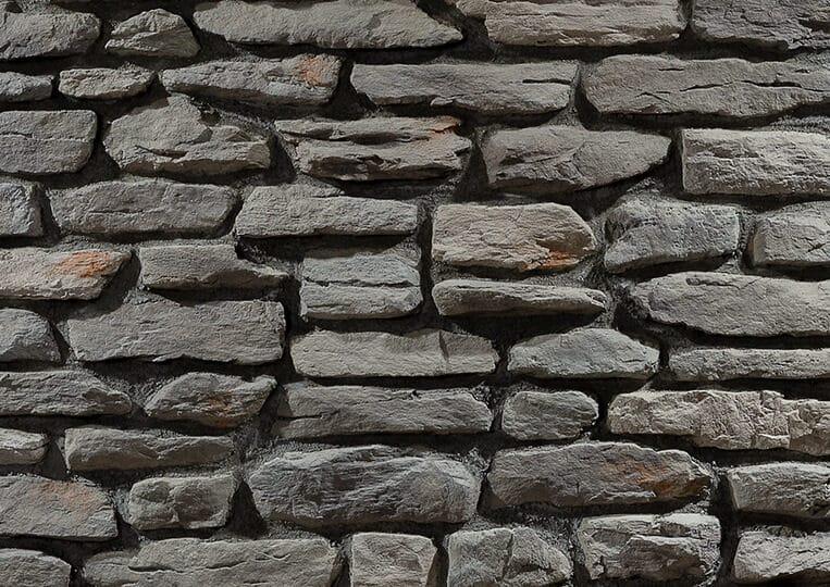 Mur en pierre reconstituée country stone termera defne