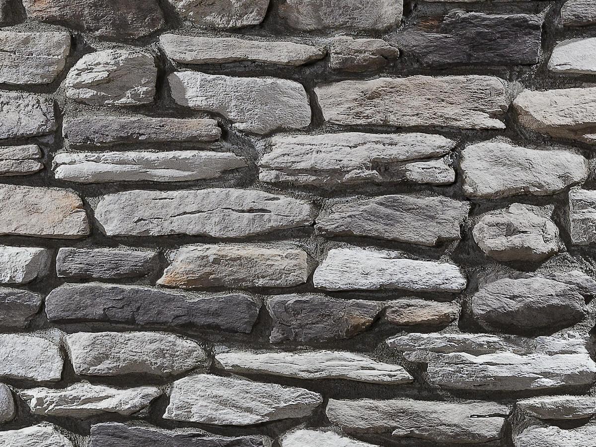 Mur en pierre reconstituée country stone termera