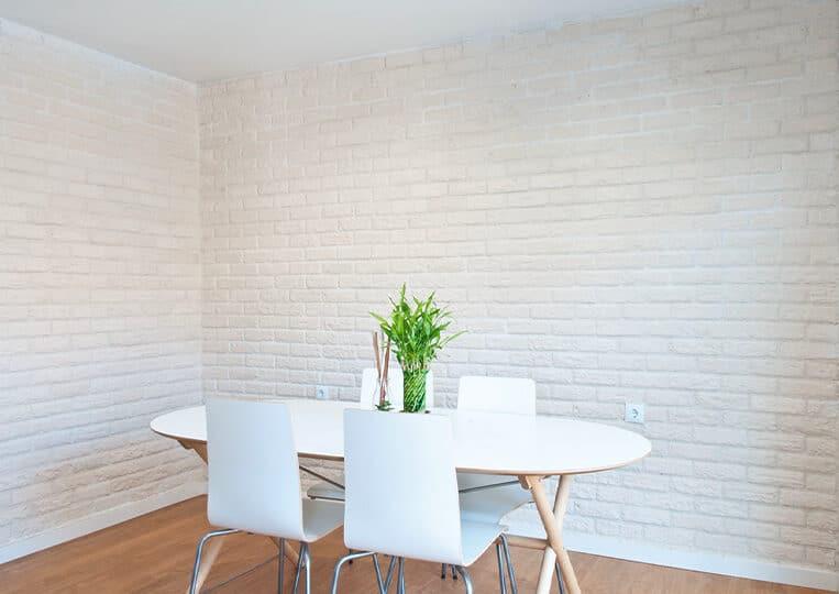 Mur intérieur en London briquettes pierre reconstituée