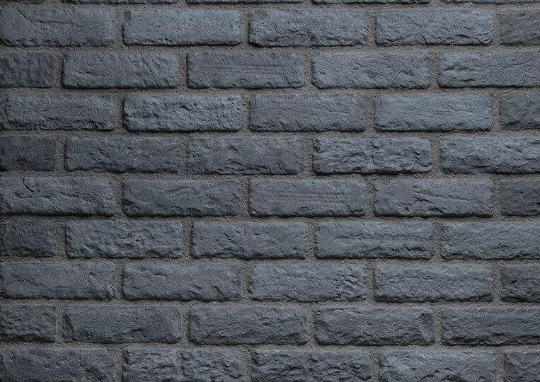 London negro briquettes pierre reconstituée