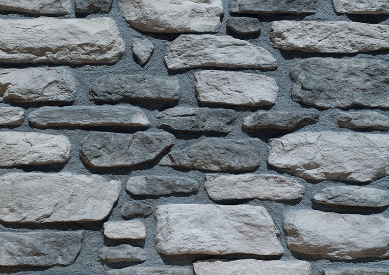 berna ceniza pierre reconstituée avec joints
