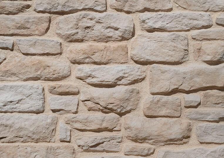 berna naturel pierre reconstituée avec joints