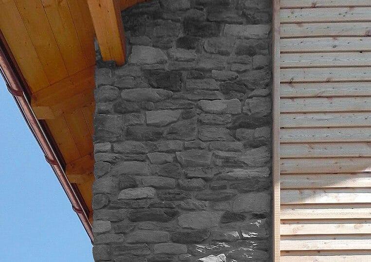 Mur externe en pierre reconstituée Berna