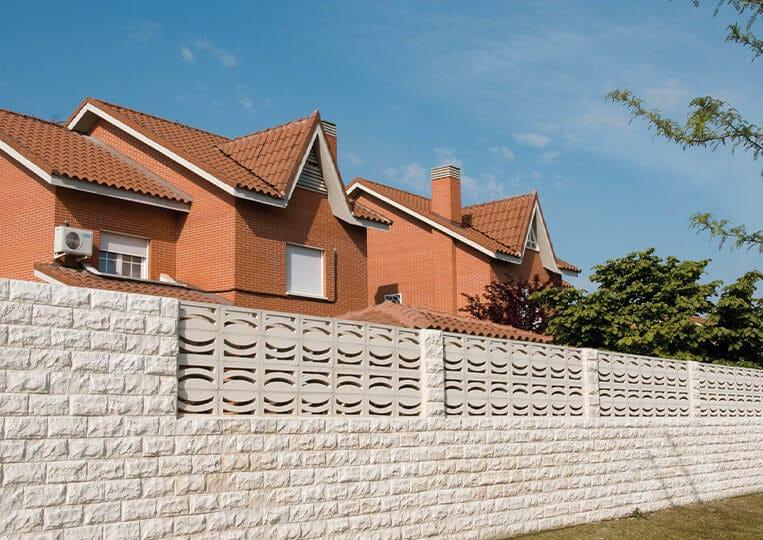 Mur en pierre de parement pirineos