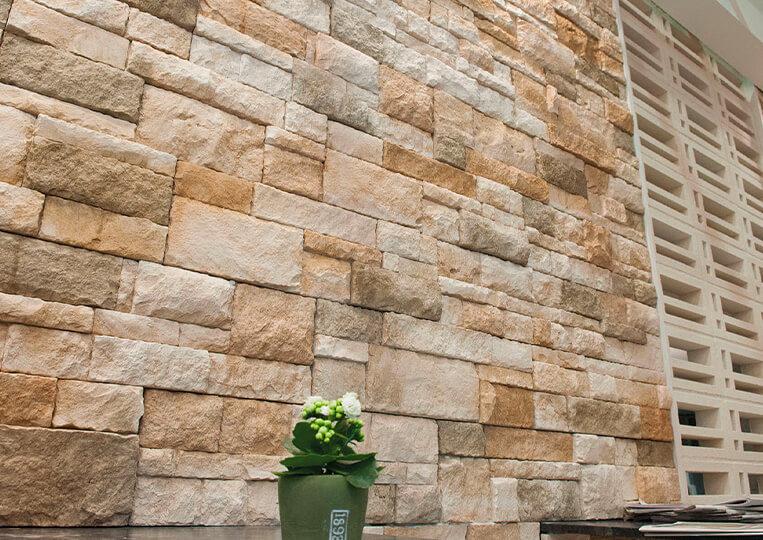 Mur en pierre de parement sierra nevada