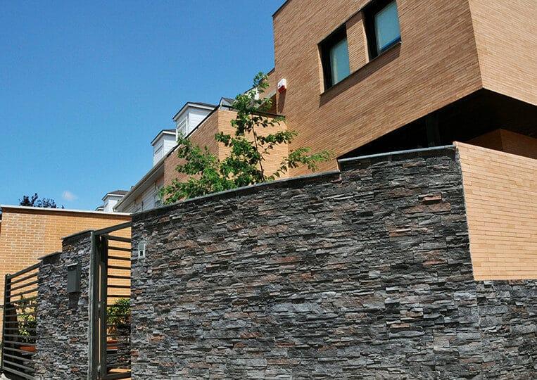 Muret en pierre de parement varadero